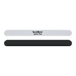 Lime professionali monouso con strisce abrasive intercambiabili # 100 colore bianco - supporto in pvc + 50 pezzi