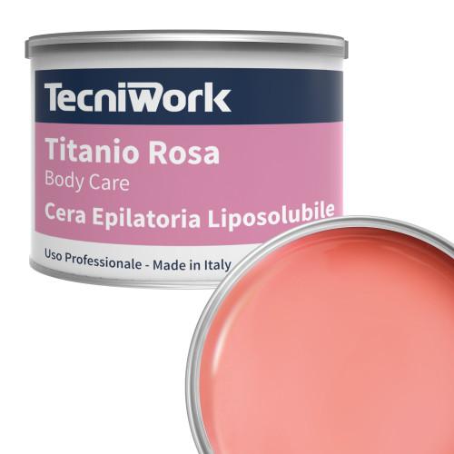 Cera epilatoria al Biossido di Titanio in barattolo 400 ml 1 pz