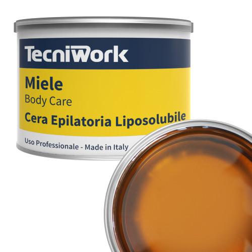 Cera epilatoria al Miele in barattolo 400 ml 1  pz