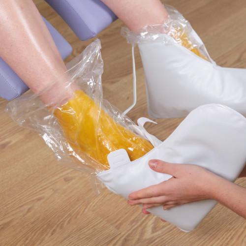 Sacchetti monouso per piedi per trattamento alla Paraffina 100 pz