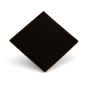 Tecnotil nero 2 mm 95 x 95 cm