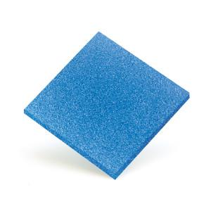 Nitrogel 3 mm azzurro 50x77