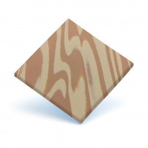 Tecnotil wave beige 2 mm 95 x 65 cm