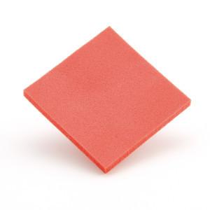 Profoam memory rosso 3 mm 100x100
