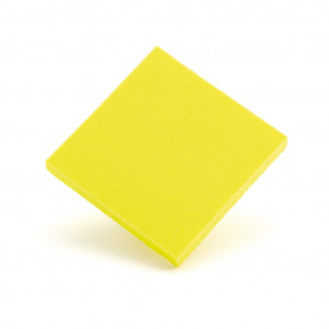 Poron xrd jaune 3 mm 68x50