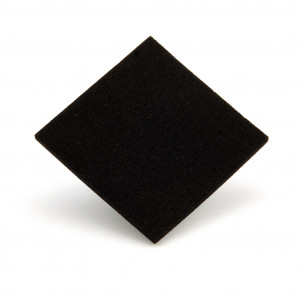 Tecnosix nero 3 mm 50x50