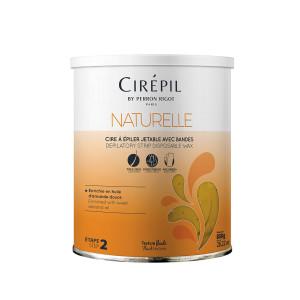 Cirepil Naturelle 800 g - Cera con strisce idratante e ammorbidente