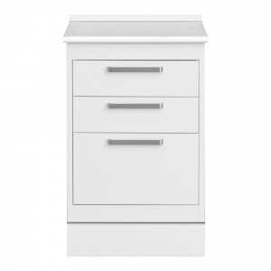 Unit with 3 drawers type b+d