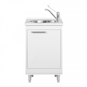 Unit w. feet  sink and mixer