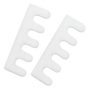 Ecarte-orteils 1 paire blanc pour  vernis-ongles