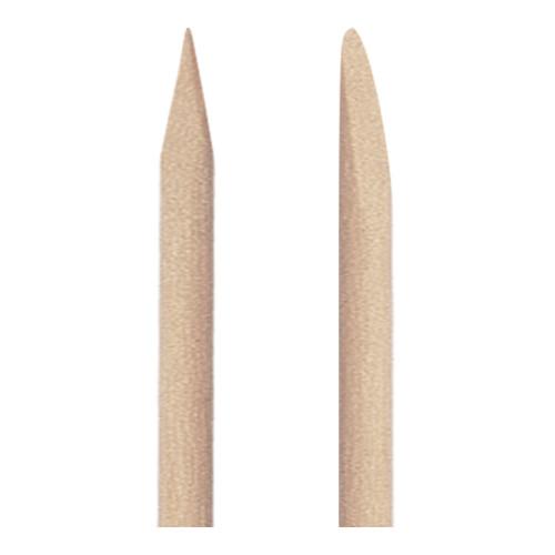 Bastoncini spingipelle in legno a doppia punta 8 pz