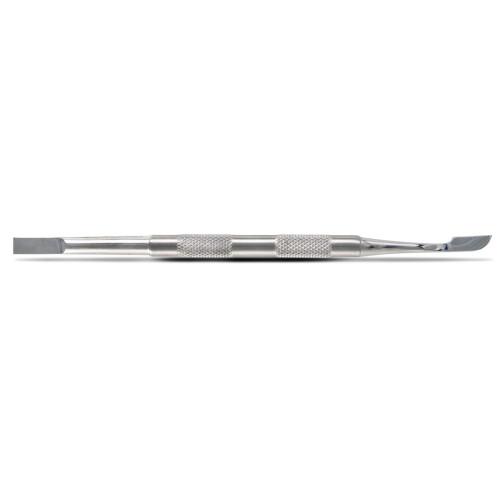 Spingipelle professionale in Acciaio Inox a doppia punta piatta-rettangolare e lanceolata