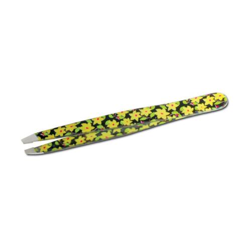 Pinzetta flower fantasy punta obliqua