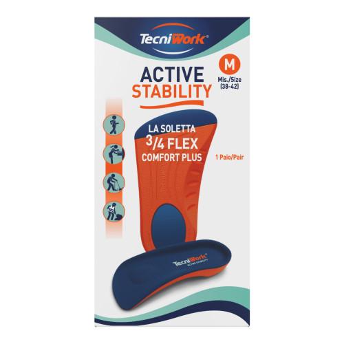 Solette 3/4 Flex Comfort plus Active Stability misura Medium 1 paio