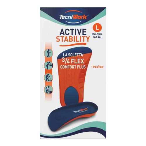 Solette 3/4 Flex Comfort plus Active Stability misura Large 1 paio