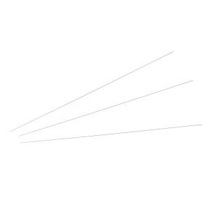 Kit fili al titanio - 3 misure - 9 pz