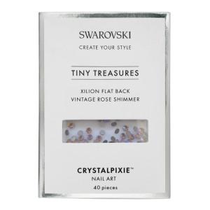 Xilion Flat Back - Vintage Rose Shimmer 40 pz - Swarovski Tiny Treasures