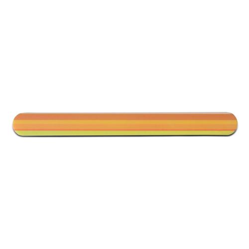 Lima professionale lucidante a due superfici Miracle Strips arancione 3 pz