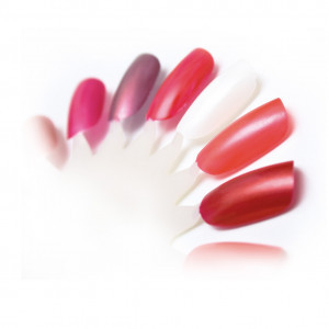 Nail colour wheel oval