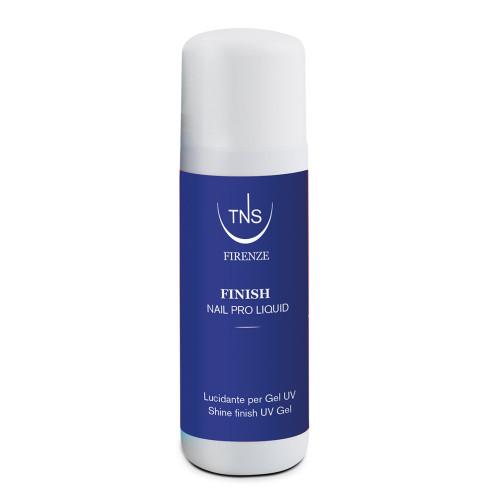 Finish 100 ml - Soluzione lucidante a base oleosa per rimuovera la dispersione del gel UV