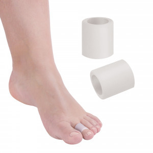Fascetta tubolare per dita dei piedi in Tecniwork Polymer Gel trasparente