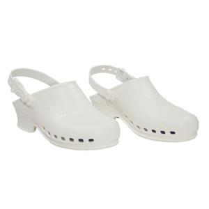 Weiße clogs