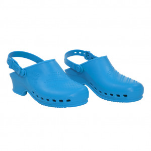 Clogs baby blau