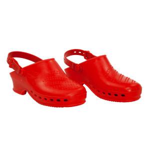 Sabots rouges