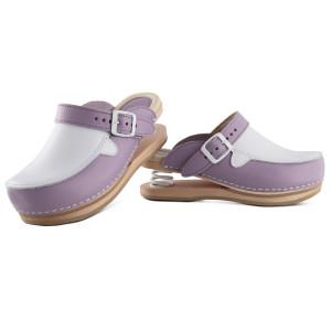 Trend clogs upper closed lilac