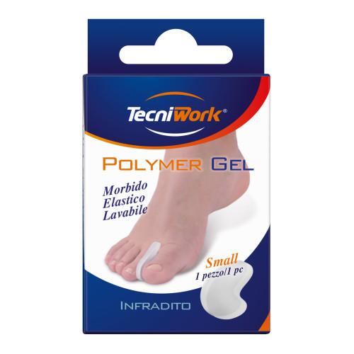 Infradito per dita dei piedi in Tecniwork Polymer Gel trasparente 1 pz