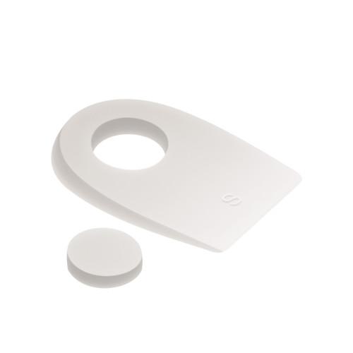 Talloniere in silicone con cuscinetto centrale removibile
