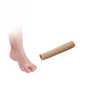 Protezione tubolare per dita dei piedi in tessuto e in tecniwork polymer gel